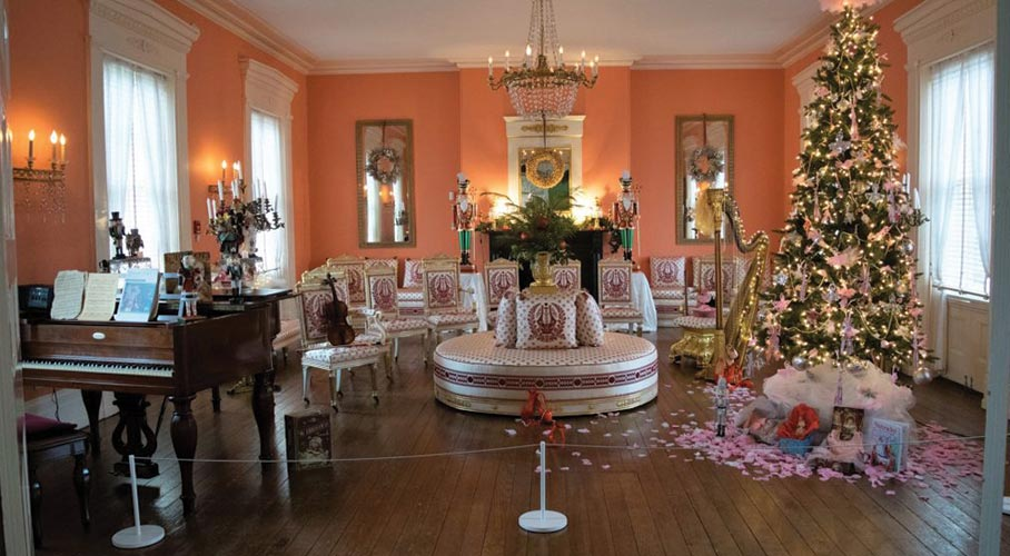 Christmas at Historic Strawberry Mansion